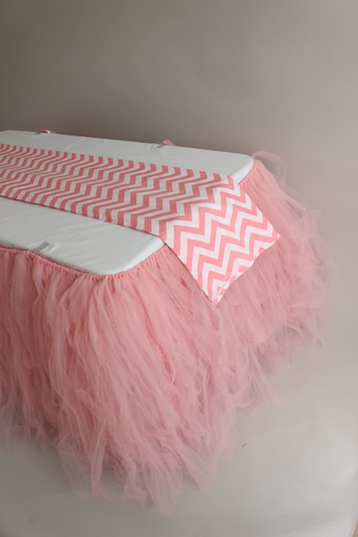 Outstanding Table Skirt Pink Tulle Download Free Architecture Designs Ferenbritishbridgeorg