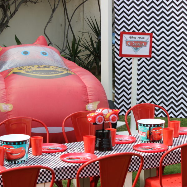 Cars Decoration Package Polkadot Party Hire