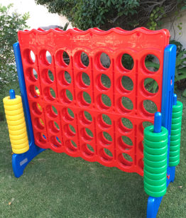 Giant Jenga Tumble Tower Polkadot Party Hire